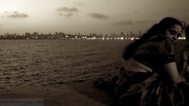 At Nariman Point, Mumbai, India
