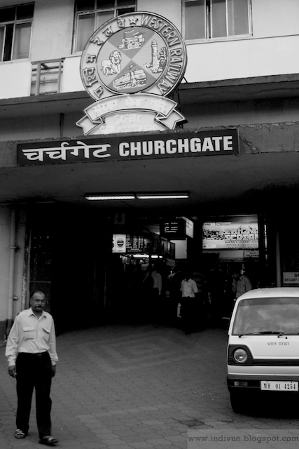 Churchgate station in Mumbai in 2006
