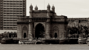 Gateway of India in Mumbai in 2006