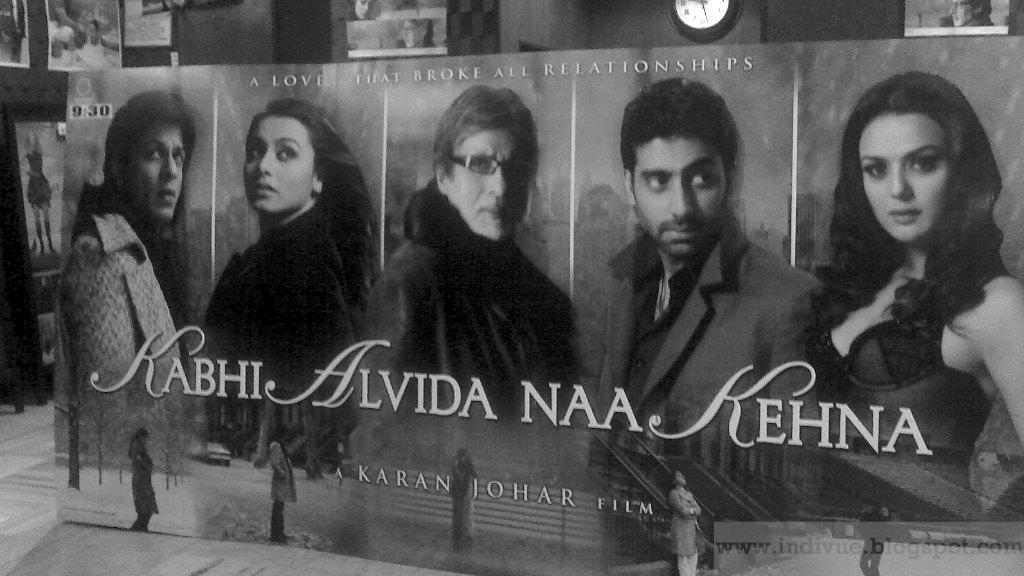 Karan Johar movie premiere add in Regal Cinema in 2006