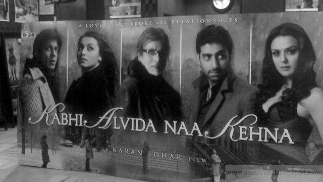Kabhi Alvida Naa Kehna, Bollywood movieposter