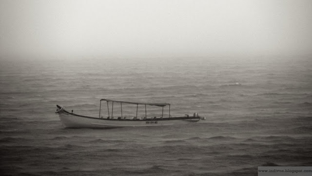 Arabian sea and a boat