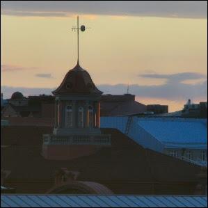 Sunset on Helsinki