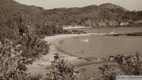 Om-Beach, Gokarn, Karnataka, India