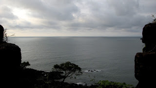 View from Cabo de Rama Fort, Mobor, Goa,India
