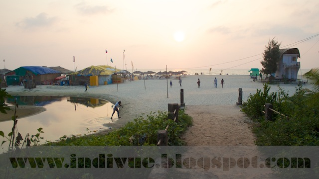Majorda Beach, Goa, India