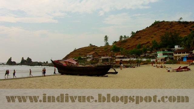 Arambol Beach, Goa, India