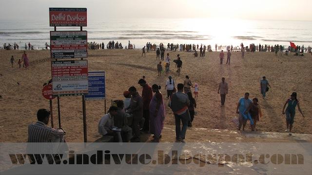 Calangute Beach, Goa, India