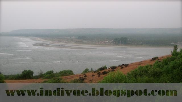 Morjim Beach, view from Fort Chapora, Goa, India