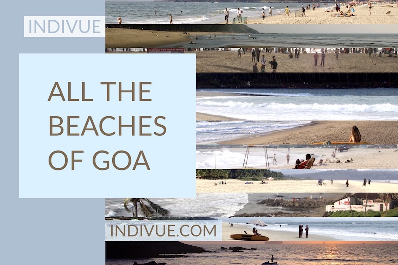 Many Goan beaches