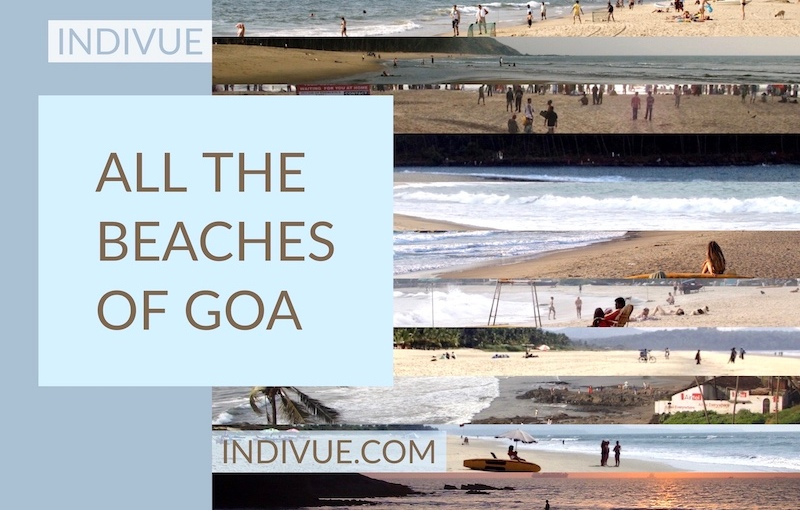All the beaches and hotels of Goa (updated 2020)