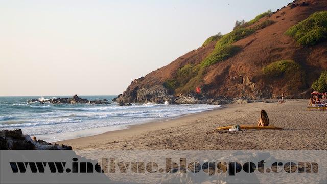 Little Vagator Beach, Goa, India