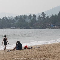 Colomb Beach in Goa, India