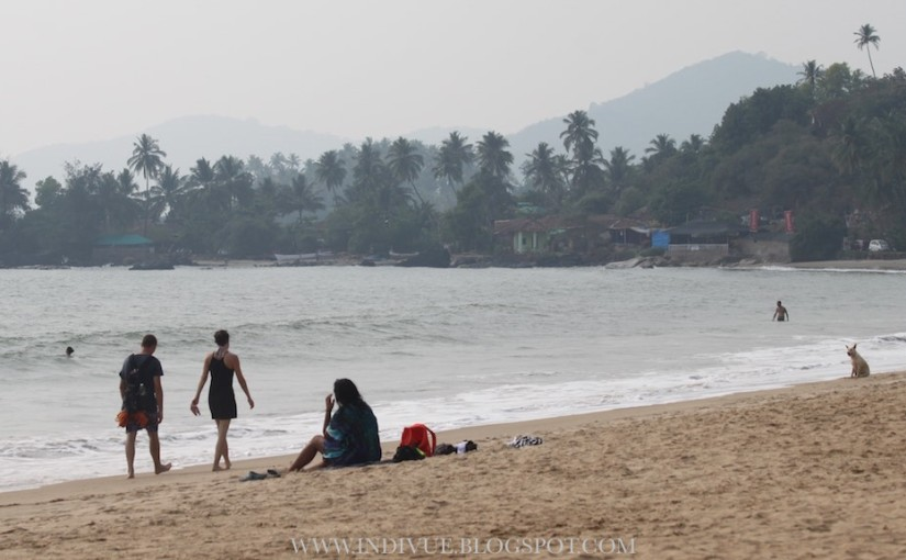 Colomb Beach and Patnem Beach in Goa, India
