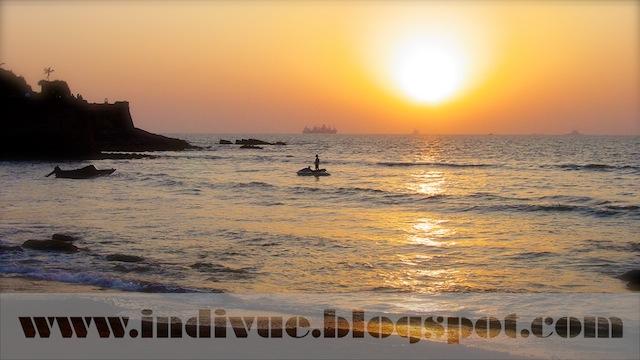 Sinquerim Beach, Goa, India