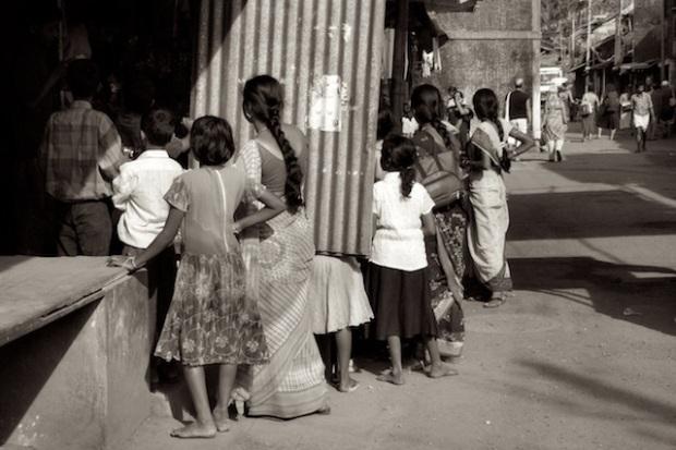 Street view in Gokarn, India