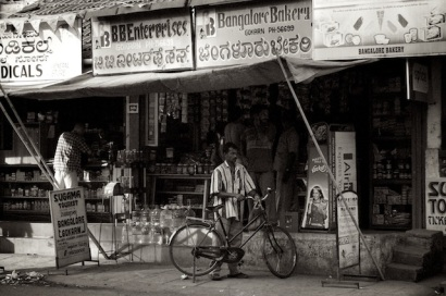 German bakery and other shops in Gokarn