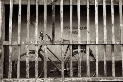Bicycle in Gokarn