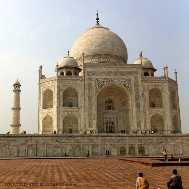 Taj Mahal in daytime