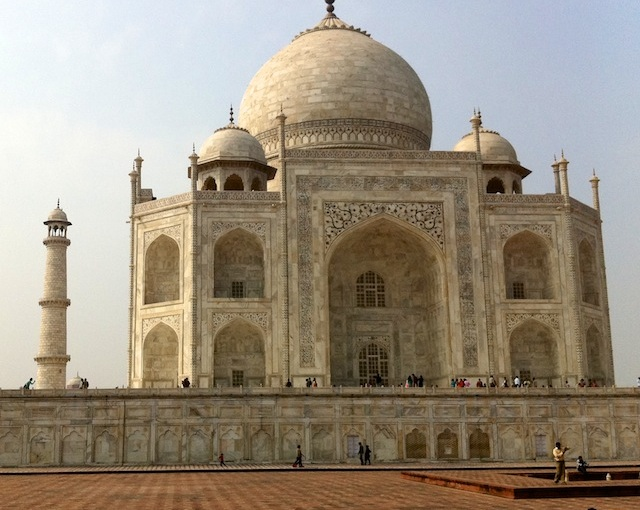 Taj Mahal, India, with iPhone4-camera