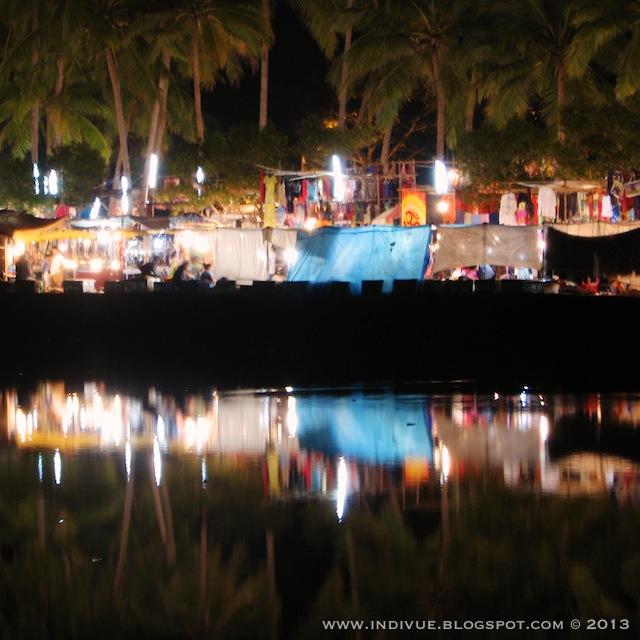 Mackies Saturday Night Bazaar, on Baga River, Arpora, Baga Bardez, Goa, India