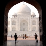 Taj Mahal in 2011
