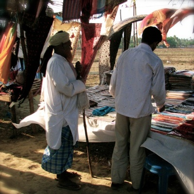 Anjuna Flea Market, Goa, India, 2006