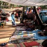 Jewellery for sale in Anjuna Flea Market, Goa