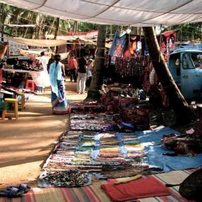 Anjuna Flea Market, Goa, India, 2006
