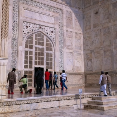 Taj Mahal, India, with iPhone4