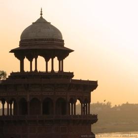 View from Taj Mahal