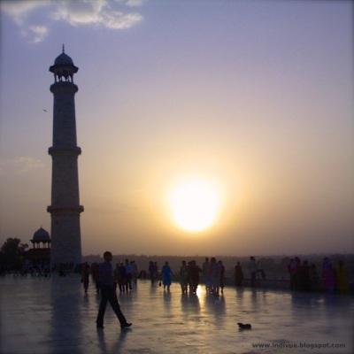 Taj Mahal, India, photo with Nokia phone 2007
