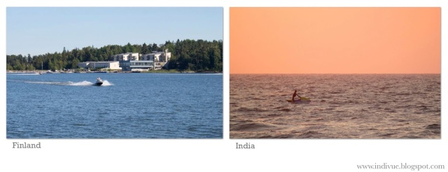 Vesiskootteri Suomessa ja Intiassa - Waterscooter in Finland and in India