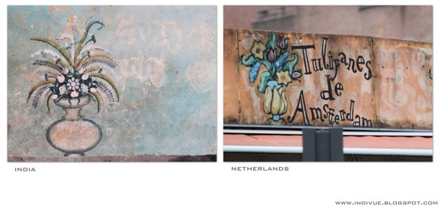 Seinämaalauksia - Wall paintings - www.indivue.blogspot.com