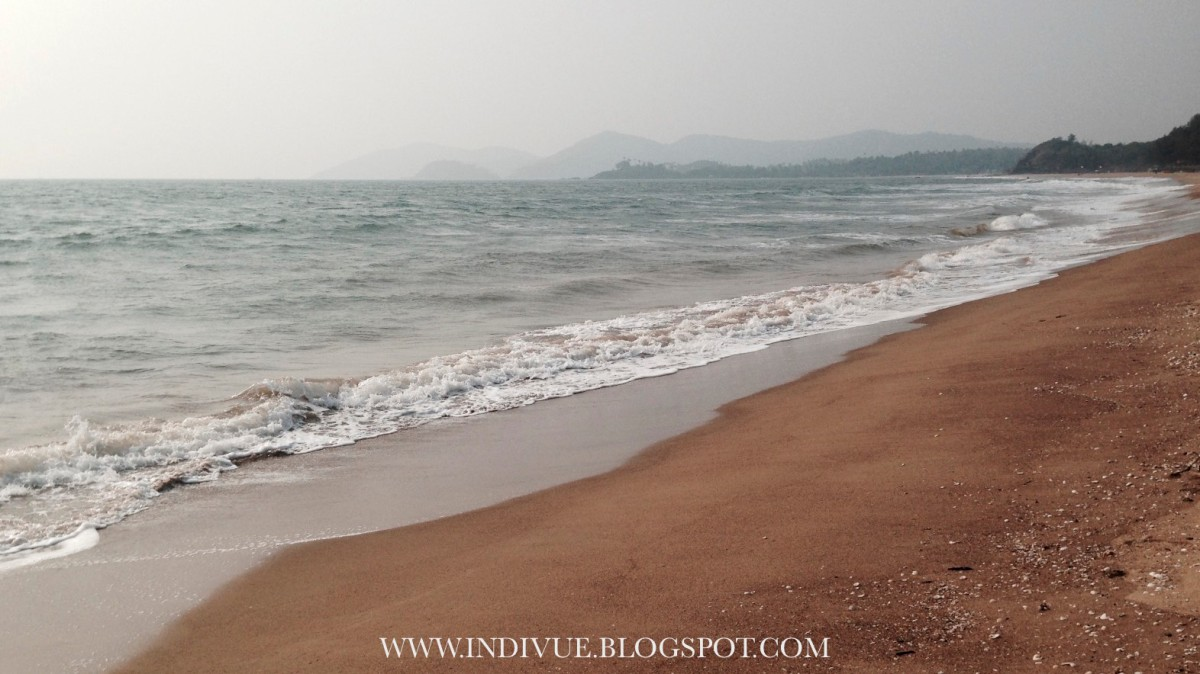 Raj Baga Beach in Goa, India