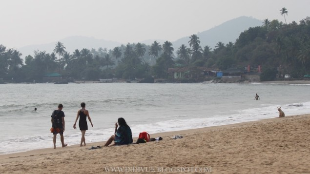 Patnem and Colomb Beaches, Goa, India