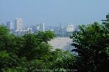 Chowpatty Beach in Mumbai, 2006