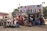 Ice-cream stall in Chowpatty Beach, Mumbai, India