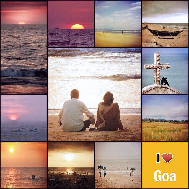 Button image for I love Goa by indivue.com
