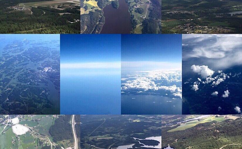 Flight from Oslo toHelsinki