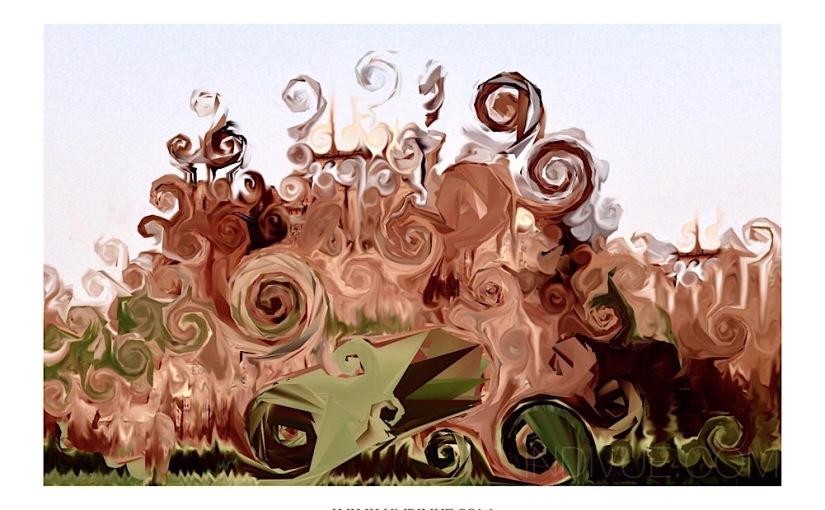 Digital art inspired by NewDelhi