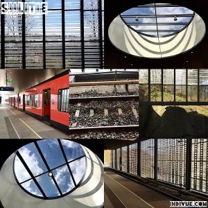 Siilitie, Helsinki, metrostation -collage
