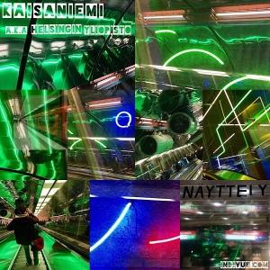 Kaisaniemi aka Helsingin yliopisto, Helsinki, metrostation -collage