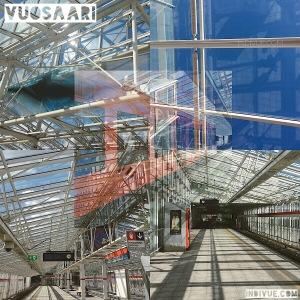 Vuosaari, Helsinki, metrostation -collage