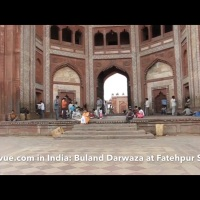 Buland Darwaza at Fatehpur Sikri in India