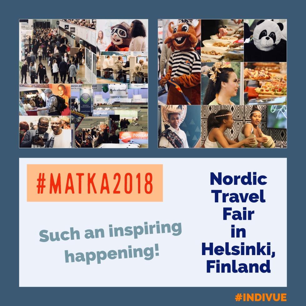 Nordic Travel Fair in Helsinki, Finland in 2018