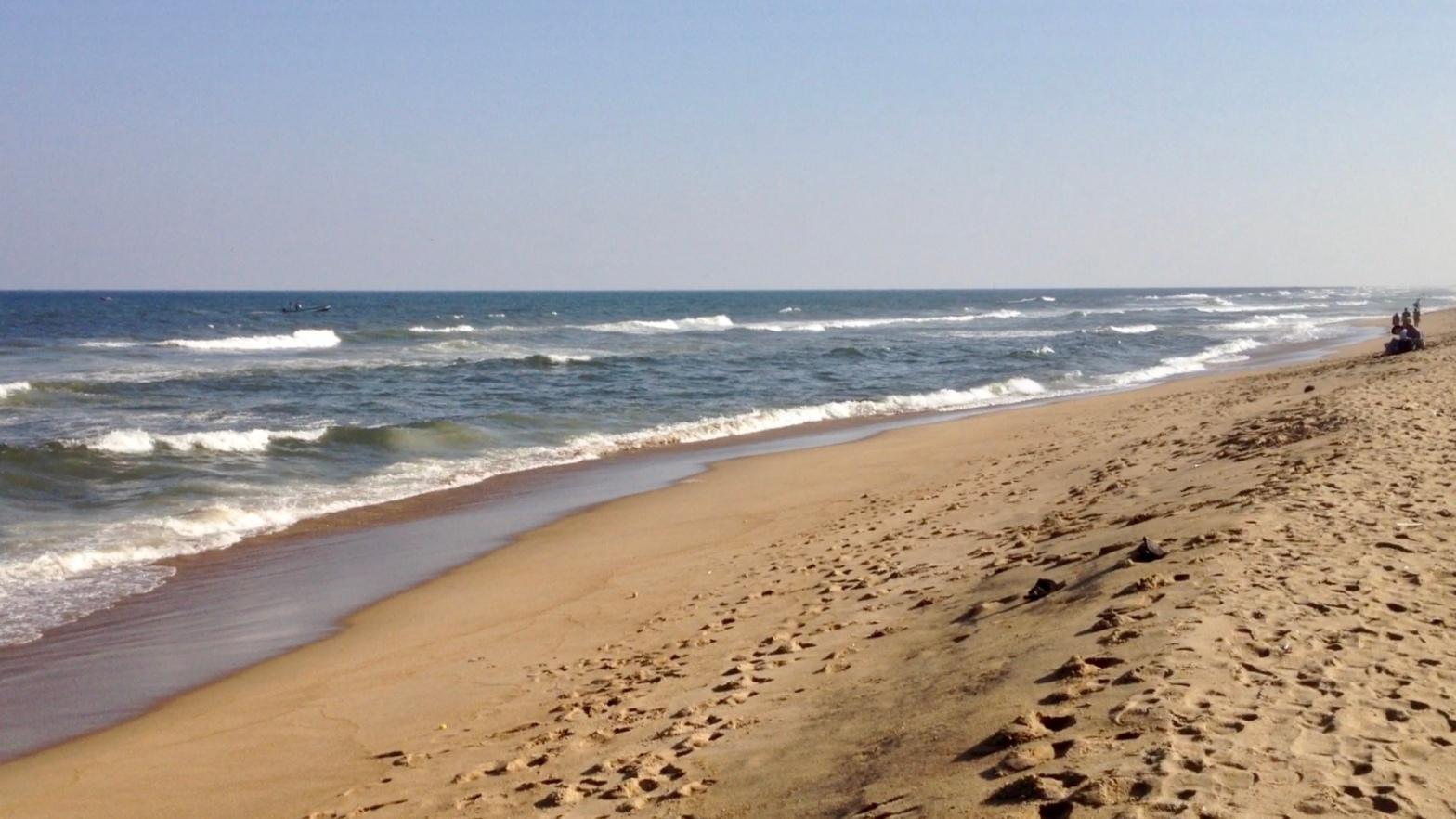 Marina Beach in Chennai India