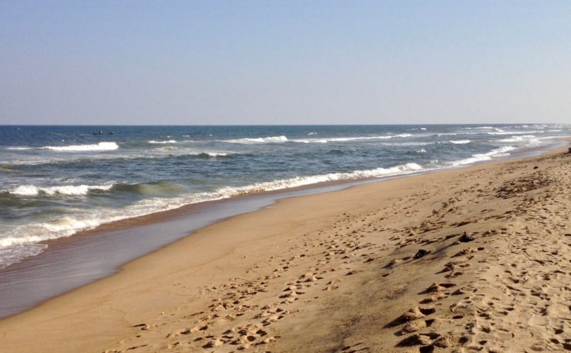 Marina Beach in Chennai onvideo