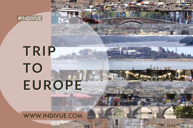 Cover of Trip to Europe work in 2020