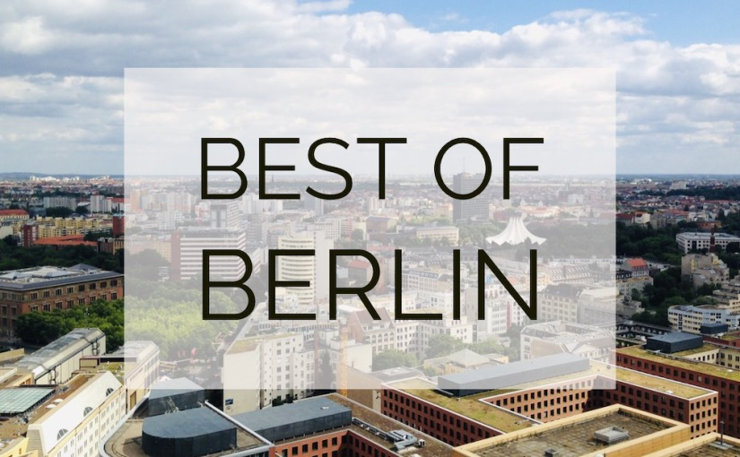 Best of Berlin sights (video)